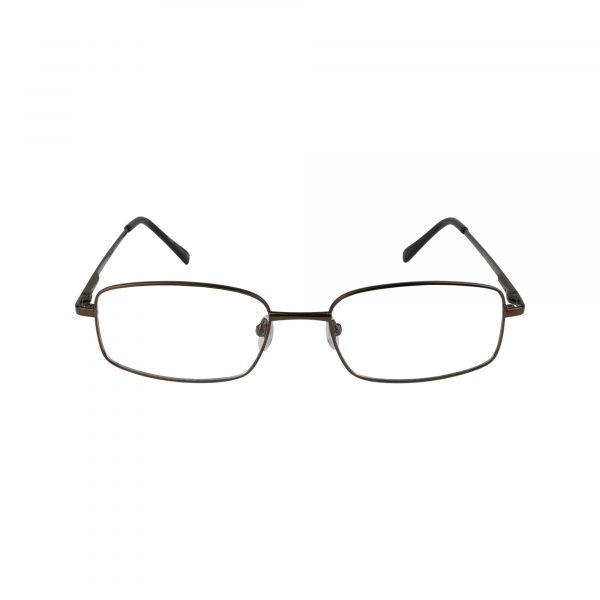 176 Brown Glasses - Front View