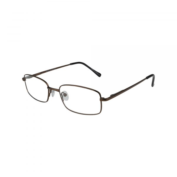 176 Brown Glasses - Side View