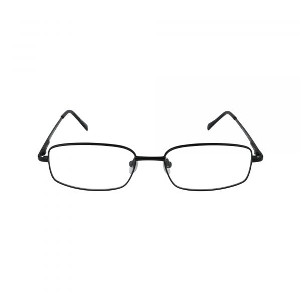 176 Black Glasses - Front View