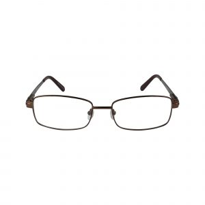 161 Brown Glasses - Front View