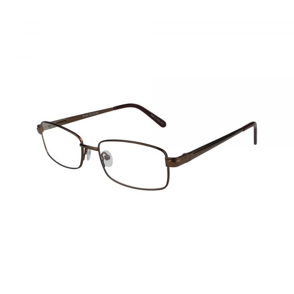 161 Brown Glasses - Side View