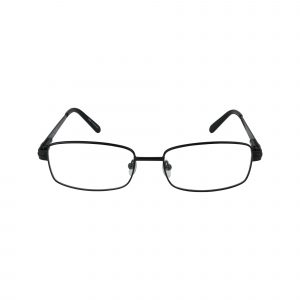 161 Black Glasses - Front View
