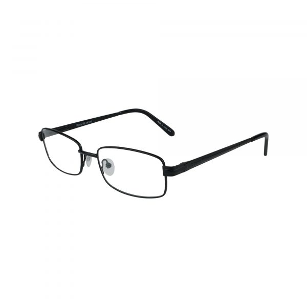 161 Black Glasses - Side View