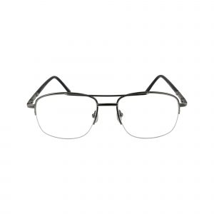 151 Gunmetal Glasses - Front View