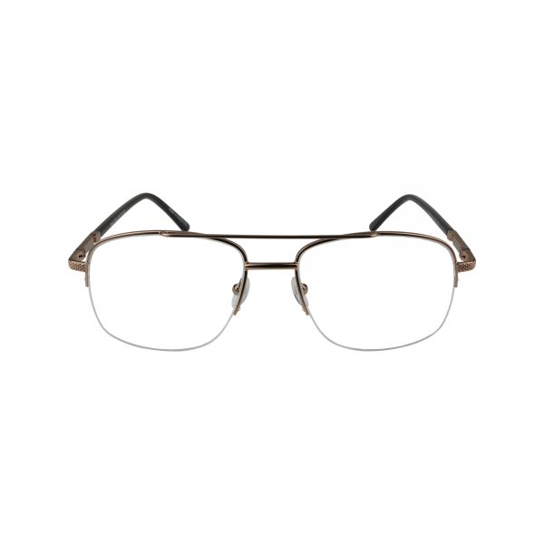 151 Gold Glasses - Front View