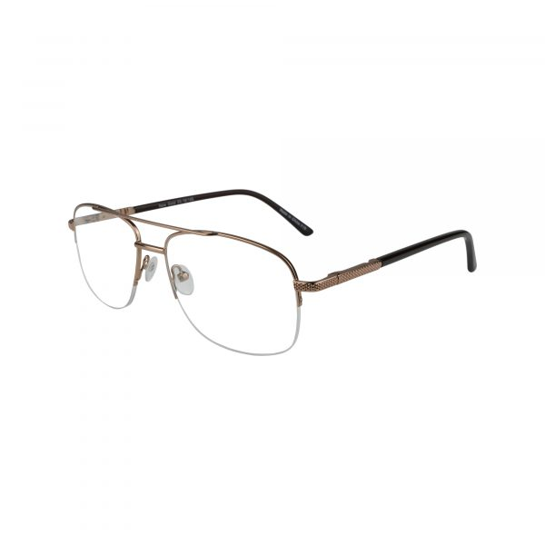 151 Gold Glasses - Side View