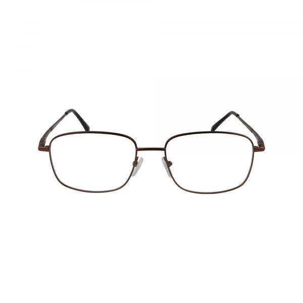 210 Brown Glasses - Front View