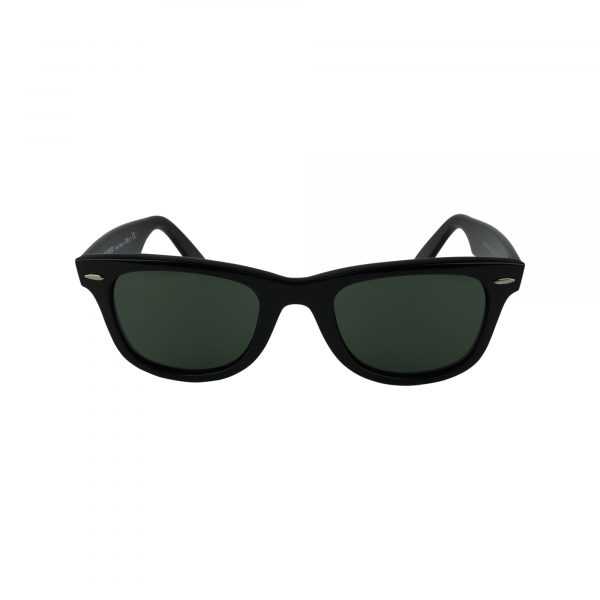 2140 Black Glasses - Front View