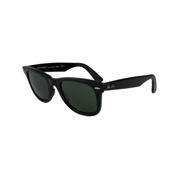 2140 Black Glasses - Side View
