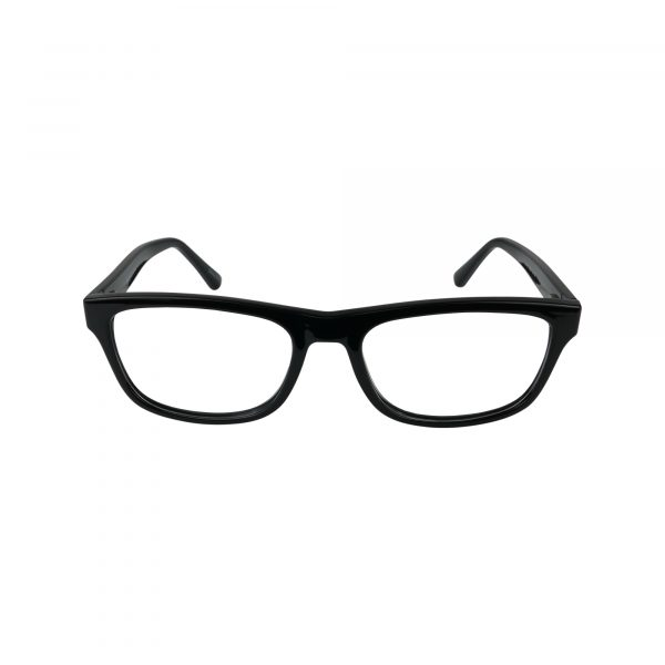 64 Black Glasses - Front View