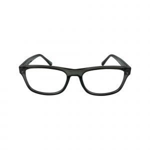 64 Gunmetal Glasses - Front View