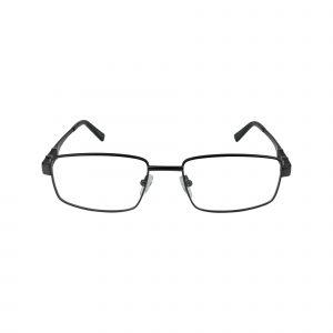 L855 Gunmetal Glasses - Front View