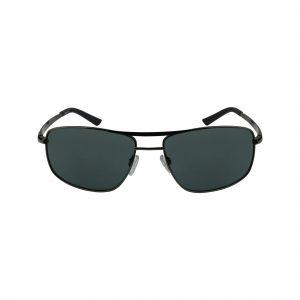 Half Shot Gunmetal Glasses - Front View