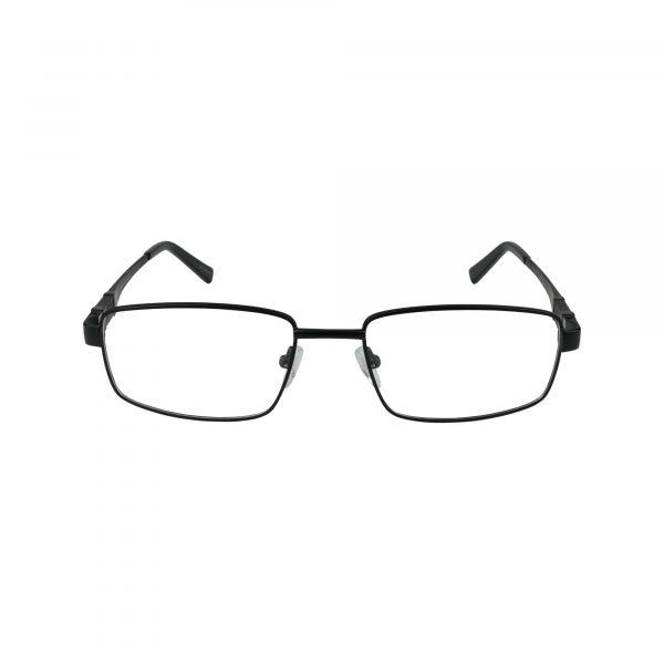 L855 Black Glasses - Front View