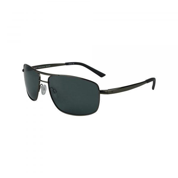 Half Shot Gunmetal Glasses - Side View