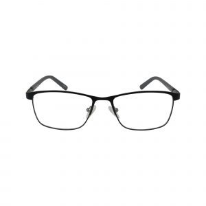 L851 Black Glasses - Front View