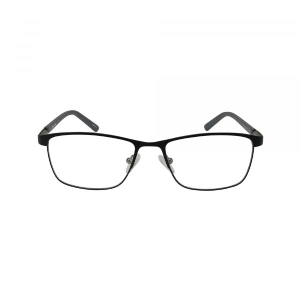 L851 Black Glasses - Front View