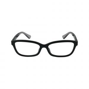6147U Black Glasses - Front View
