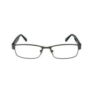 GR18 Gunmetal Glasses - Front View