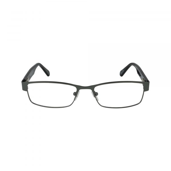 GR18 Gunmetal Glasses - Front View