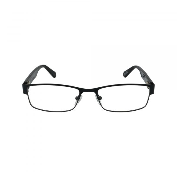 GR18 Black Glasses - Front View