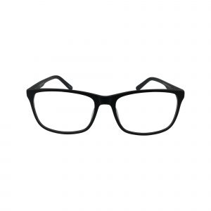 475 Black Glasses - Front View