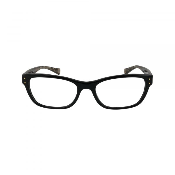 6082 Black Glasses - Front View