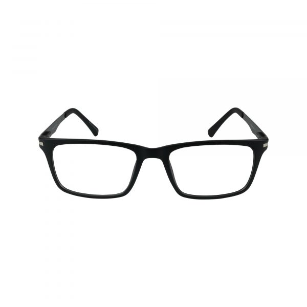 450 Black Glasses - Front View