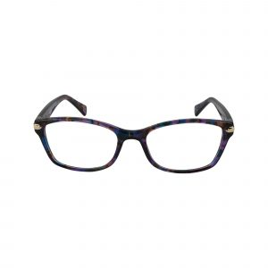 6065 Purple Glasses - Front View