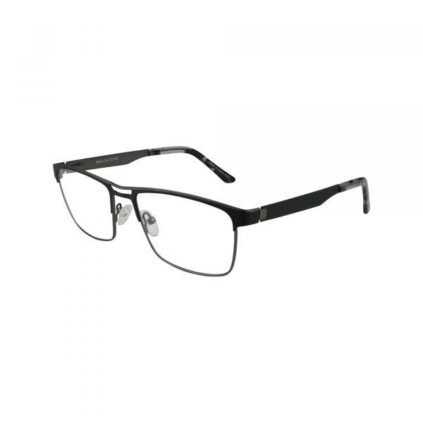 665 Black Glasses - Side View