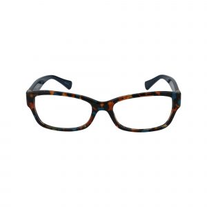6078 Blue Glasses - Front View