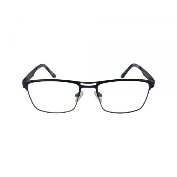 665 Blue Glasses - Front View