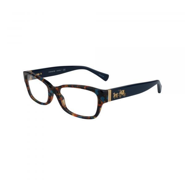 6078 Blue Glasses - Side View