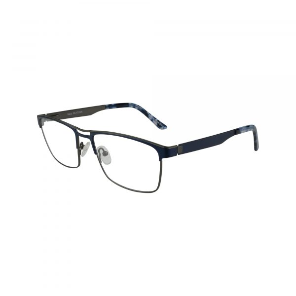 665 Blue Glasses - Side View
