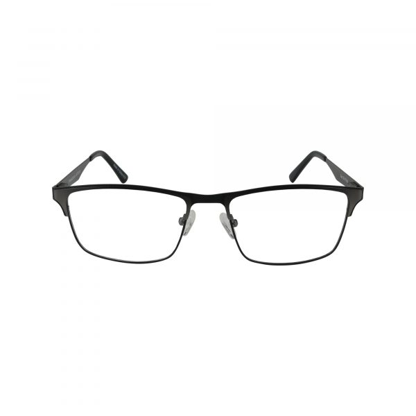 673 Gunmetal Glasses - Front View