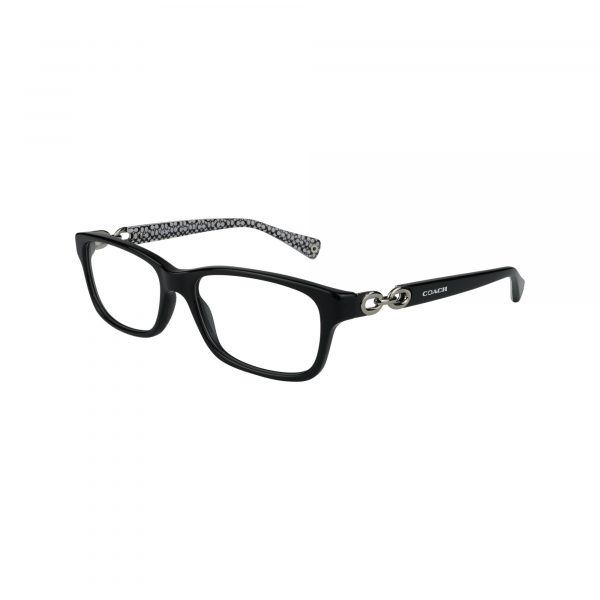 6052 Black Glasses - Side View