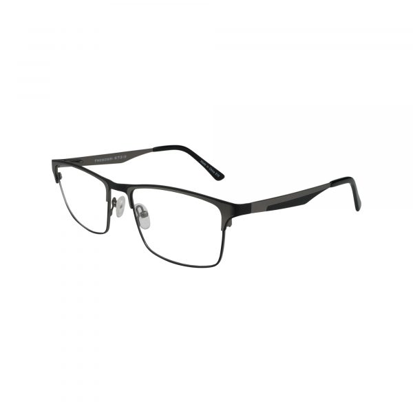673 Gunmetal Glasses - Side View