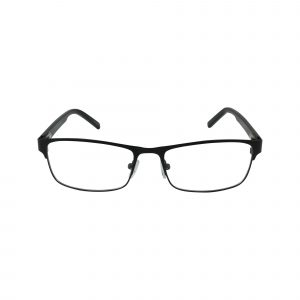 653 Black Glasses - Front View