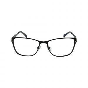 Tora Black Glasses - Front View