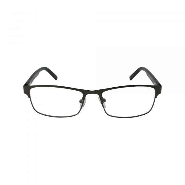 653 Gunmetal Glasses - Front View