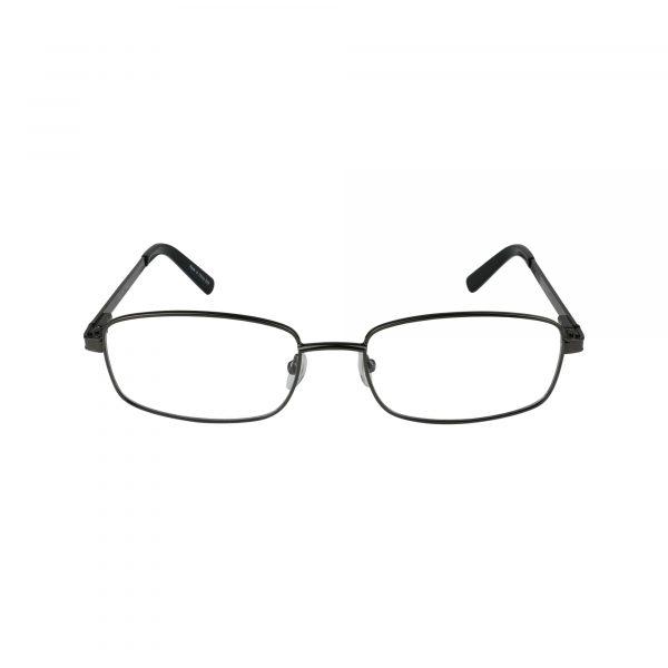 625 Gunmetal Glasses - Front View