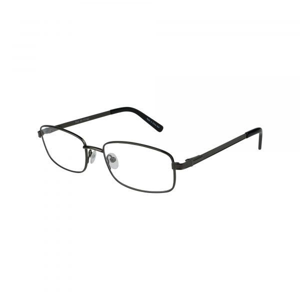625 Gunmetal Glasses - Side View