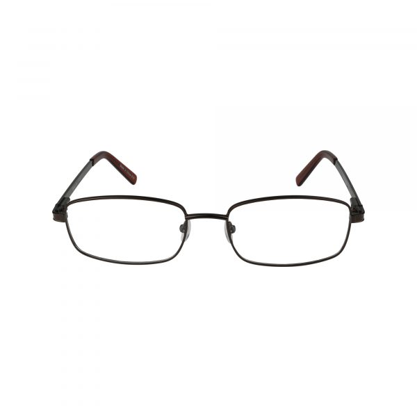 625 Brown Glasses - Front View