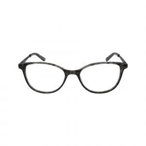 Petites Shalimar Gunmetal Glasses - Front View