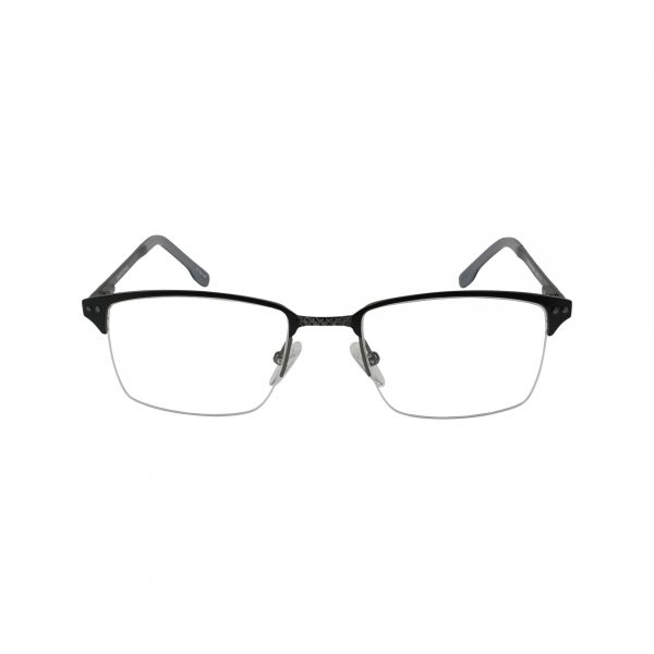 658 Black Glasses - Front View