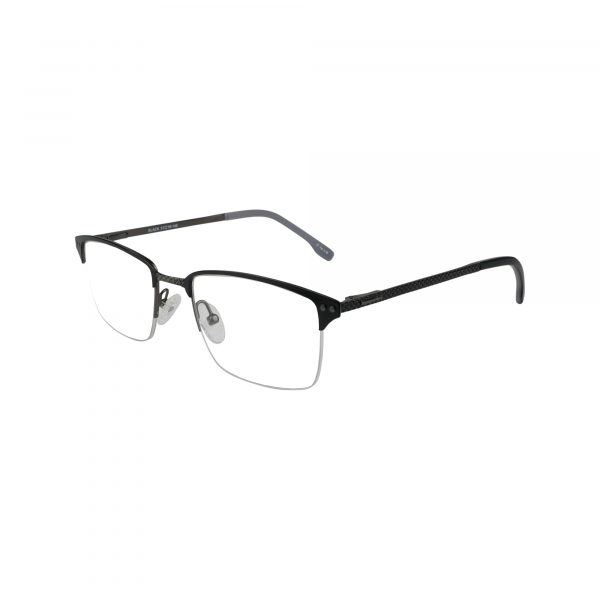 658 Black Glasses - Side View