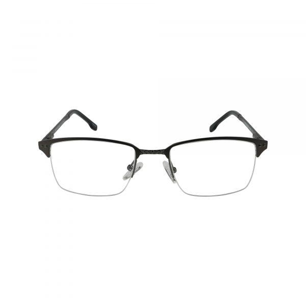 658 Gunmetal Glasses - Front View