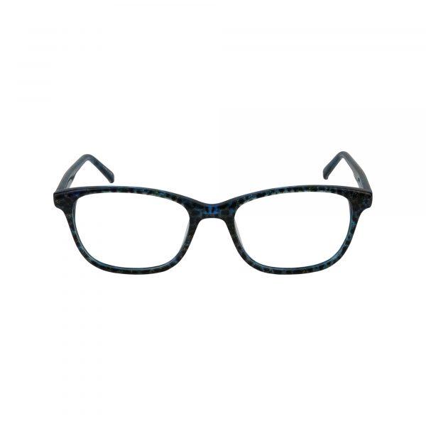 Petites Ocotillo Blue Glasses - Front View