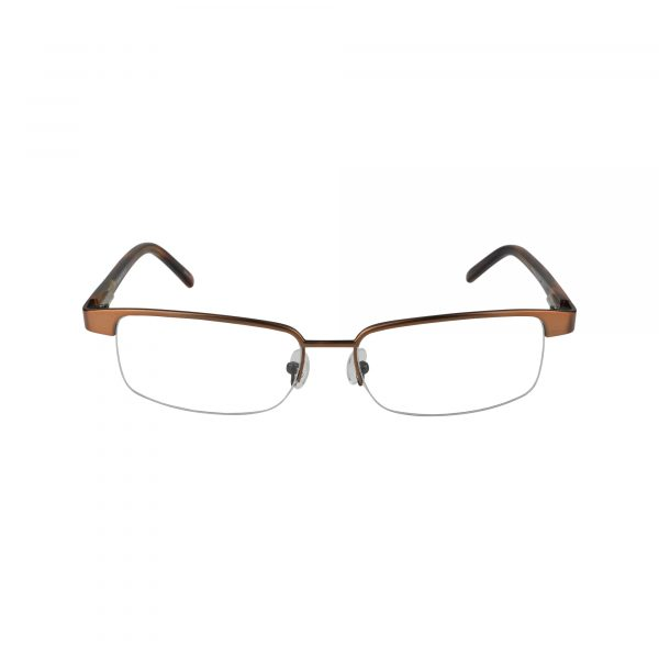 553 Brown Glasses - Front View