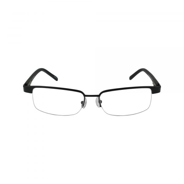 553 Black Glasses - Front View